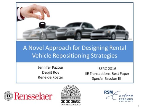 ISERC 2016 Repositioning Rental Vehicles Presentation