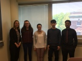 Some of the undergraduates student researchers from Spring 2016.