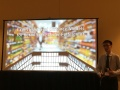 Ning Zhang presenting about retail store order fulfillment