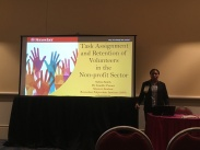 Safron Smith presentation about task assignment in nonprofits